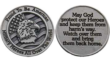 American Military Heroes Coin