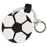 Soccer  Keychain, Clip for Bag