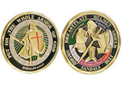 Full Armor of God Challenge Coin