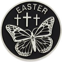 Easter Coin Resurrection and Life  John 11:25-26