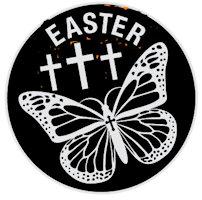 Butterfly Easter Coin John 11:25,26