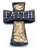 Faith Cross Pocket Stone & Card