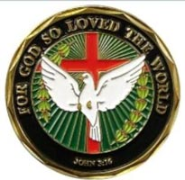 John 3:16 Deluxe Christian Coin Easter