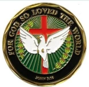 John 3:16 Deluxe Christian Coin Easter
