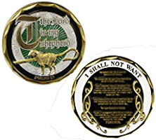 Lord is My Shepherd Deluxe Coin