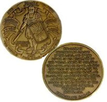 Salvation Armor of God Challenge Coin