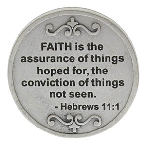 Faith We Can Overcome Anything Coin back