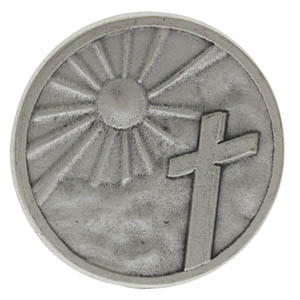 Faith is Assurance Silver Pocket Coin