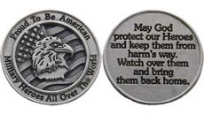 American Military Protect Heroes Coin