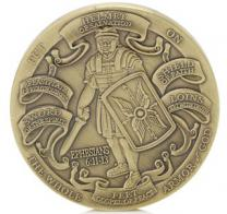 US Marines Armor of God Challenge Coin Christian