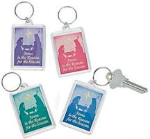 Jesus is the Reason Christmas Key Chain