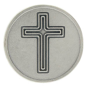 Lord Help Me Remember Prayer Coin