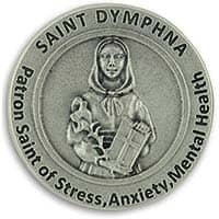 St. Dymphna Mental Health and Anxiety Coin