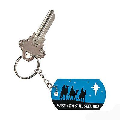 Christmas Nativity Keychain