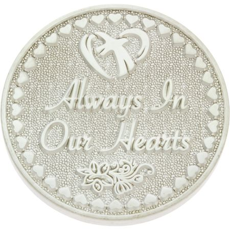 Always in Our Hearts Memorial Coin