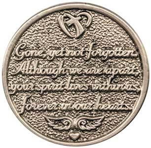 Always in Our Hearts Memorial Coins