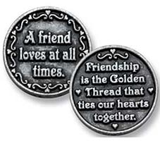 A Friend Loves At All Times Coin