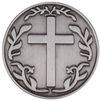 With God All Things Are Possible Coin