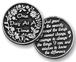 One Day At A Time Serenity Coin