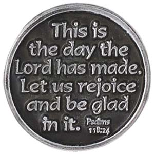 One Day At A Time Coin Christian faith coin
