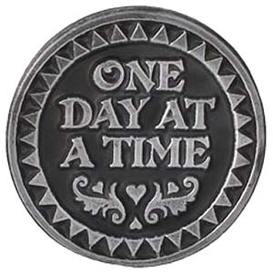 One Day At A Time Coin Psalm 118. 24