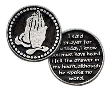 Coin I Said A Prayer For You Today Token