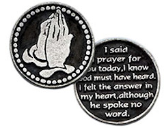 Coin I Said A Prayer For You Today Token
