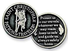 Saint Christopher Traveler Coin