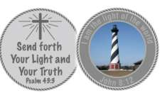 Lighthouse Coin Pewter