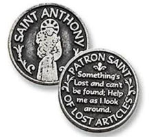 St. Anthony Lost Articles Coin Token