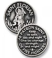 St. Florian Pocket Coin,  Firefighters