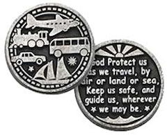 Coins - Travelers Protection - God Protects Me