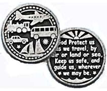 Travel Protection Coin God Protects