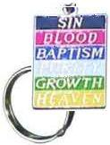 Plan of Salvation Key Ring Image