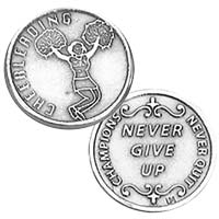 Cheerleader Coin Sports Coins