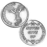 Cheerleader Coin Sports Coins