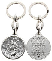 St. Christopher Travelers Key Chain
