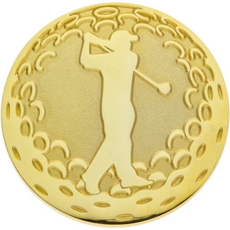 Golf Plated Ball Marker Coin - Are Possible