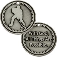 Hockey Coin All Things Are Possible