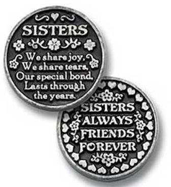 Coins - Sisters We Share & Bond Coin