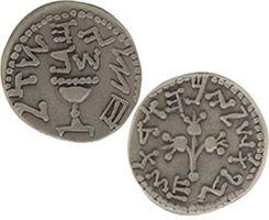 Half Shekel Coin Pewter (Pkg of 2)