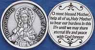Immaculate Heart of Mary Coins Christian