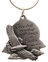 Wings of Eagles Keychain