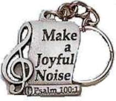 musical keychain Make a joyful sound pewter