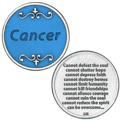 Cancer Cannot Defeat Blue Enamel Fill