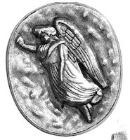 Guardian Angel Protect Me Pocket Coin