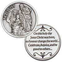 Nativity Pocket Token Jesus is Born