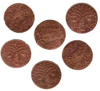 Widow's Mite Coins  Old Roman Coin Reproduction Bronze