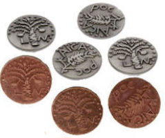 Widow's Mite Coins Bronze Reproduction (Pkg of 25)