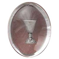 First Communion Clear Pocket Stone